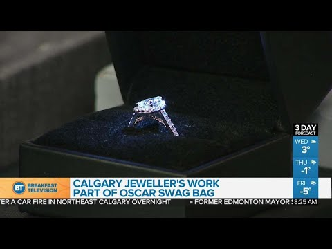 Calgary Jewellery Designer's Work Featured in Oscar Gift Bags