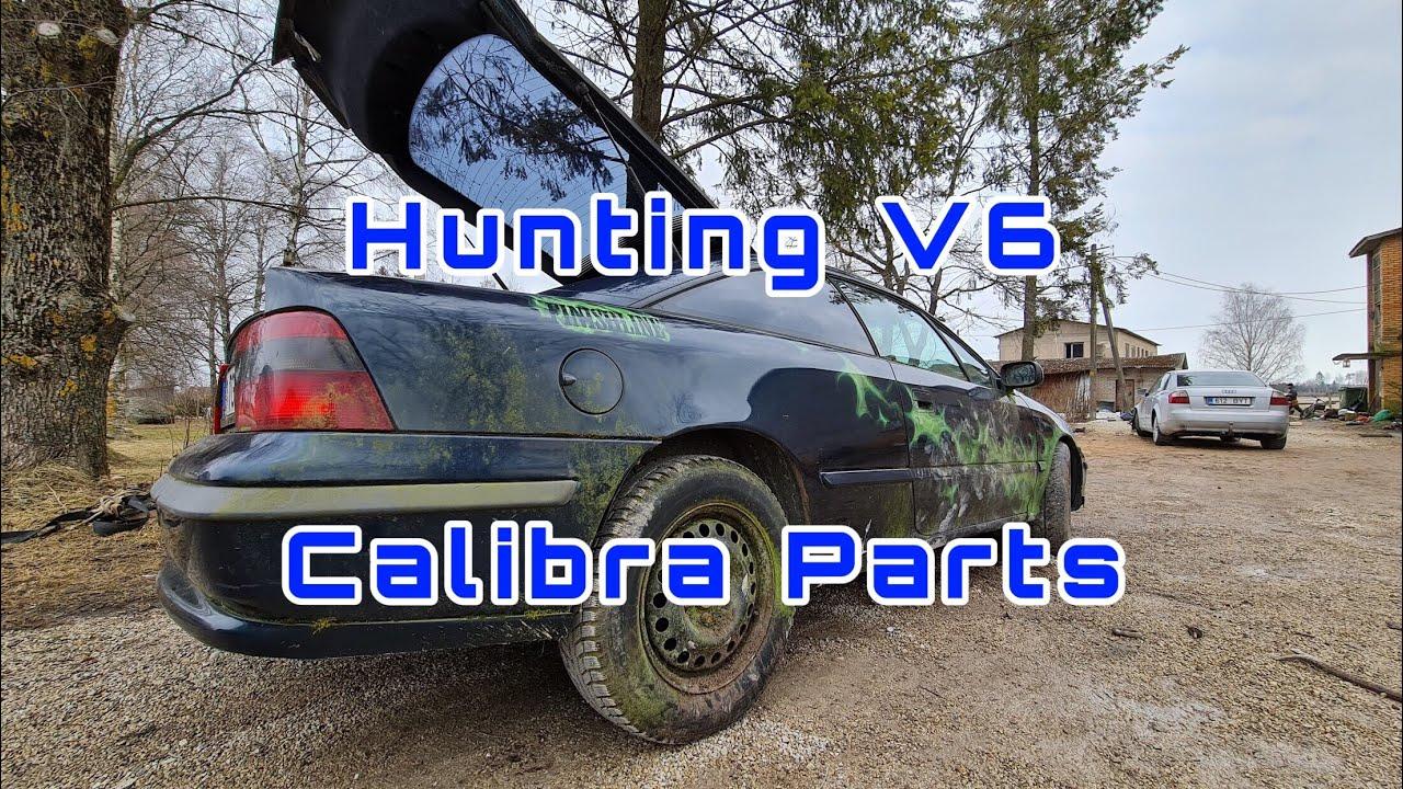 Hunting Calibra V6 Parts