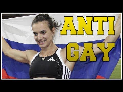 Russia Anti-Gay Laws 2014 Olympics