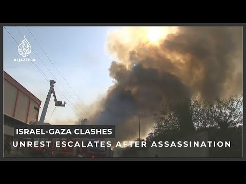 Israel-Gaza clashes escalate after Islamic Jihad commander k