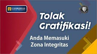 Kanwil Kemenkumham D. I. Yogyakarta Tolak Gratifikasi!