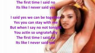 Beyonce-Yes (with on screen lyrics)! HD