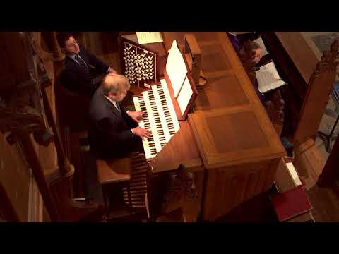 """Organ Recital: Christopher Jacobson performs """"The World Awaiting the Savior"""" by Marcel Dupré"""