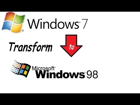 Jak zmienić wygląd Windows 7 na Windows 98