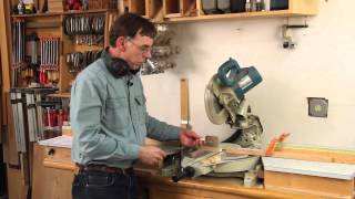 Mitersaw Flip Stop Multiple Cut Tips With Paul Anthony