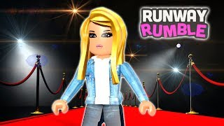 RUNWAY RUMBLE - FASHION FRENZY - FASHION Gateway at ROBLOX