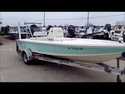 2014 Hewes 18 Redfisher Fishing Boat