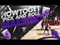 HOW TO GET PICK & ROLL MAESTRO Hall of Fame   FASTER   NBA 2K18