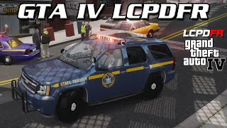 GTA IV LCPDFR MP - New York State Police - LCPDFR 1.1