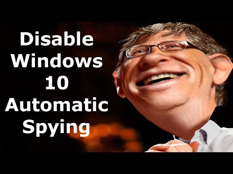 How to disable Windows 10 automatic tracking/Spying service