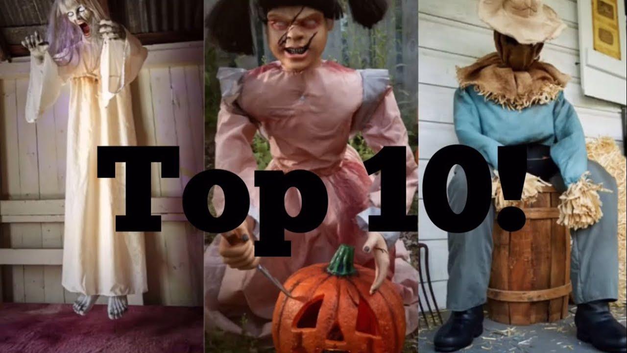 top ten 2016 spirit halloween props youtube - Halloween Props 2016