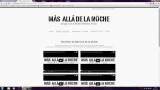 Promo Microfilms Más allá de la Noche (Beyond the night)