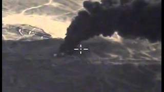 Результаты применения авиации по нефтеузлу ИГИЛ, юго-восточнее РАККА