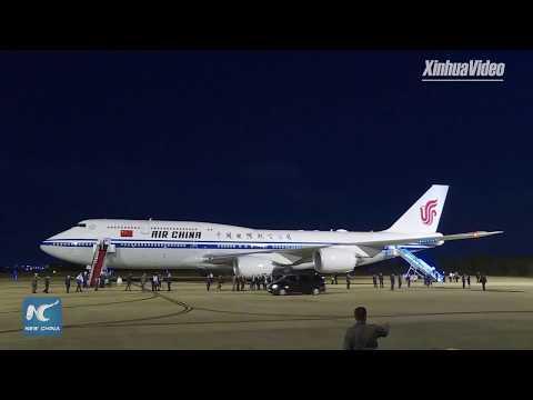LIVE: President Xi Jinping Arrives In Brasilia, Brazil