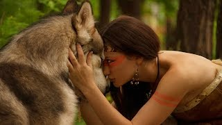 1 HOUR - Powerful Native American Drums for Trance Meditation Fire from Shaman - HD