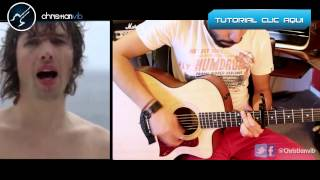 YOU ARE BEAUTIFUL Acoustic Cover James Blunt Tutorial Guitar