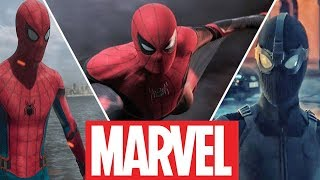 Spider-Man Evolution in Movies and Cartoons (2019) Spider-Man: Far From Home