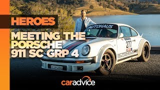 Meeting your heroes: The Autohaus Porsche 911 Group 4