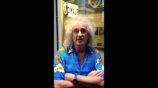 Brian May's MPT Message for Hard Rock Cafe