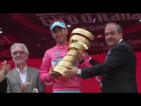 Giro d'Italia 2016 : interview Vincenzo Nibali, winner of the race