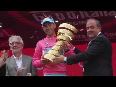 Giro d'Italia 2016 : interview Vincenzo Nibali, winner of the race
