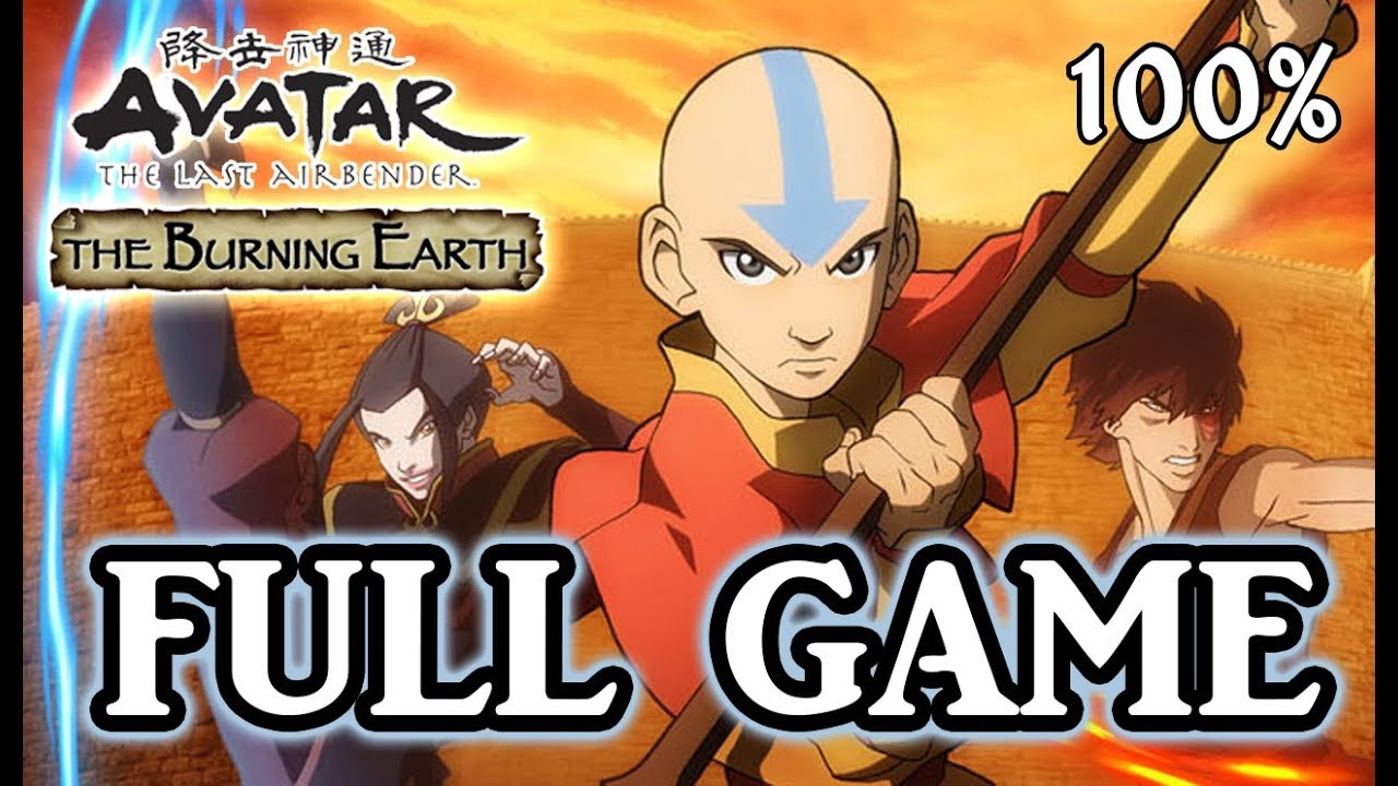 Avatar The Last Airbender: Burning Earth FULL GAME 100% Longplay (X360, Wii, PS2)
