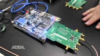 Programmable SDR Kit on Altera Cyclone V SoC and ADI AD9361 HSMC