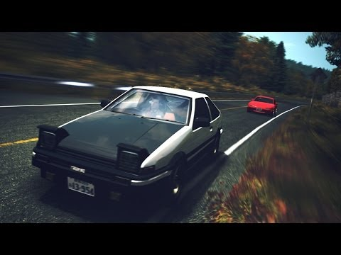 RFactor | Touge Battle | AE86 VS Roadster NA6C