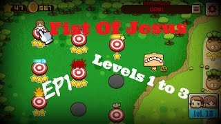 Fist Of Jesus: EP1 (PC) Levels 1 to 3 - Walkthrough - Gameplay