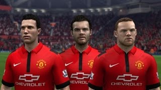 FIFA 15 | Manchester United New Home Kit 14/15 Thumbnail