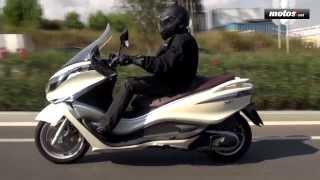 Piaggio X10 350 Executive   Prueba / Test / Review en español   motos.net
