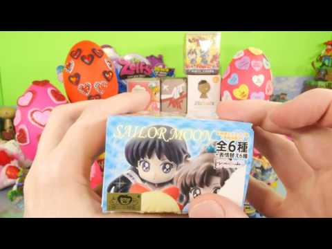Surprise Play Doh Eggs Valentine's Day Kingdom Hearts Little Mermaid DCTC Toys Playdough Videos