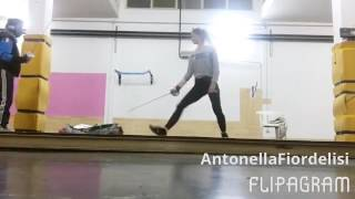 La spadista Antonella Fiordelisi si dà alla sciabola