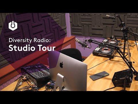 Radio Studio Tour with Community Station Diversity Radio