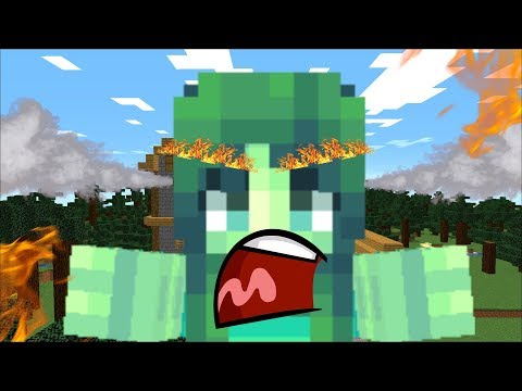 ZOMBIE MATTY MADE ZOMBIE MARIE MAD !!  Minecraft !!