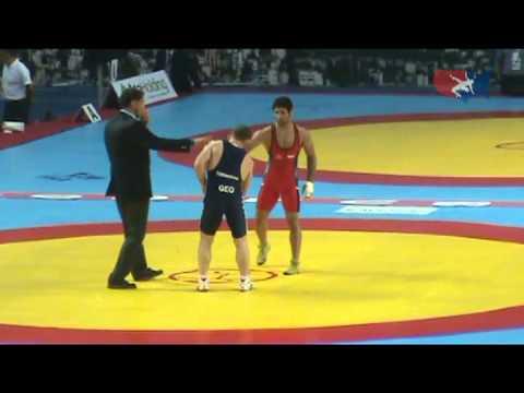 2011 Worlds Greco 66kg Final - Saeid Abdvali (IRI) vs. Manuchar Tskhadaia (GEO)