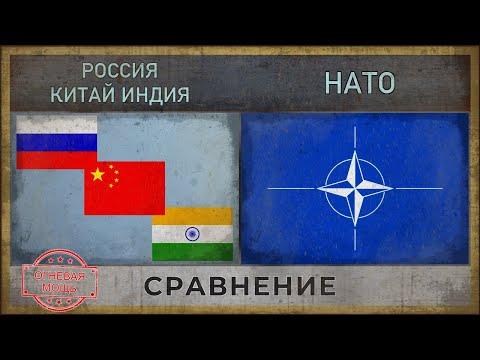 РОССИЯ, КИТАЙ, ИНДИЯ vs НАТО | Военная сила [2018]