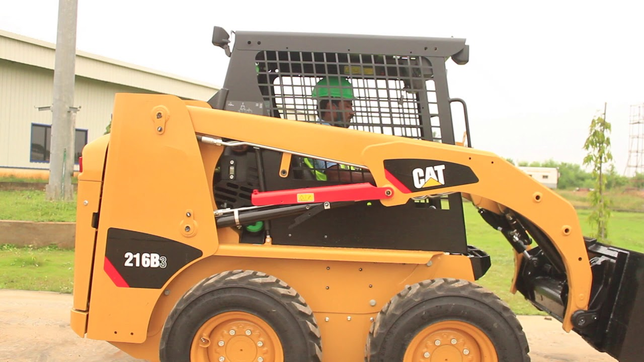 Cat® B3 Series Skid Steer Loader Overview   India