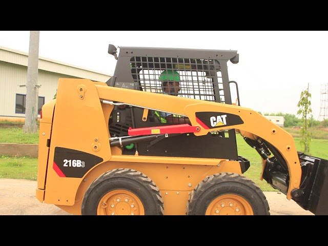 Cat® B3 Series Skid Steer Loader Overview |  India
