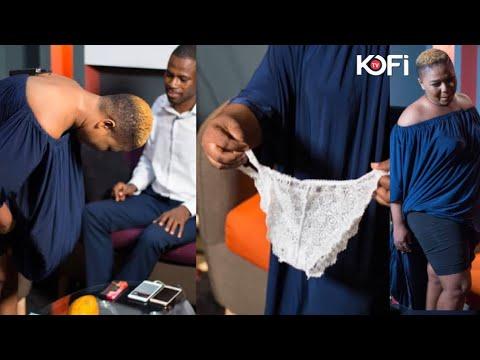 XANDY REMOVES HER PANT LIVE ON KOFI TV