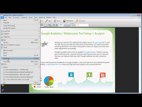 How To Optimize PDF Documents For Search Engine? - YouTube