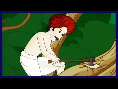 The Woodcutter And The Axe Story In Hindi | Moral Stories For Kids In Hindi | Moral Values Stories