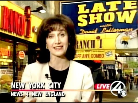 WBZ Archives: Letterman Hosts All Boston Episode Of The Late Show