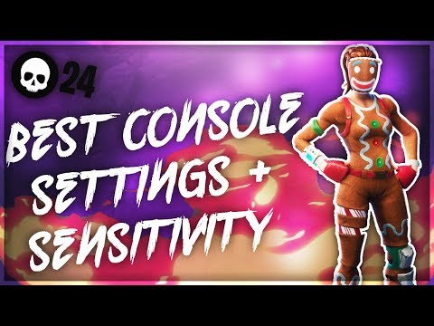 *UPDATED* Best Settings/Sensitivity To Use For PS4/Xbox Fortnite! (Top Console Player)