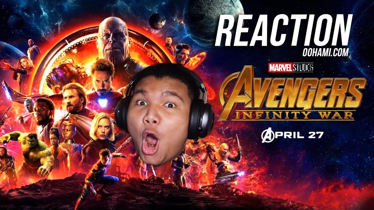 Oohami Reaction Marvel Studios Avengers Infinity War Trailer