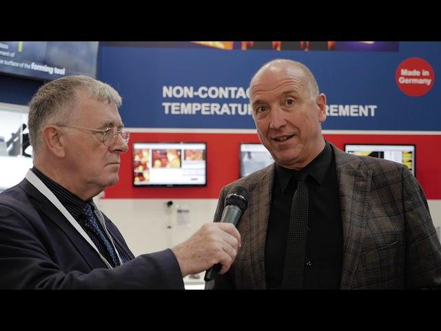Optris: non-contact temperature measurement for float glass