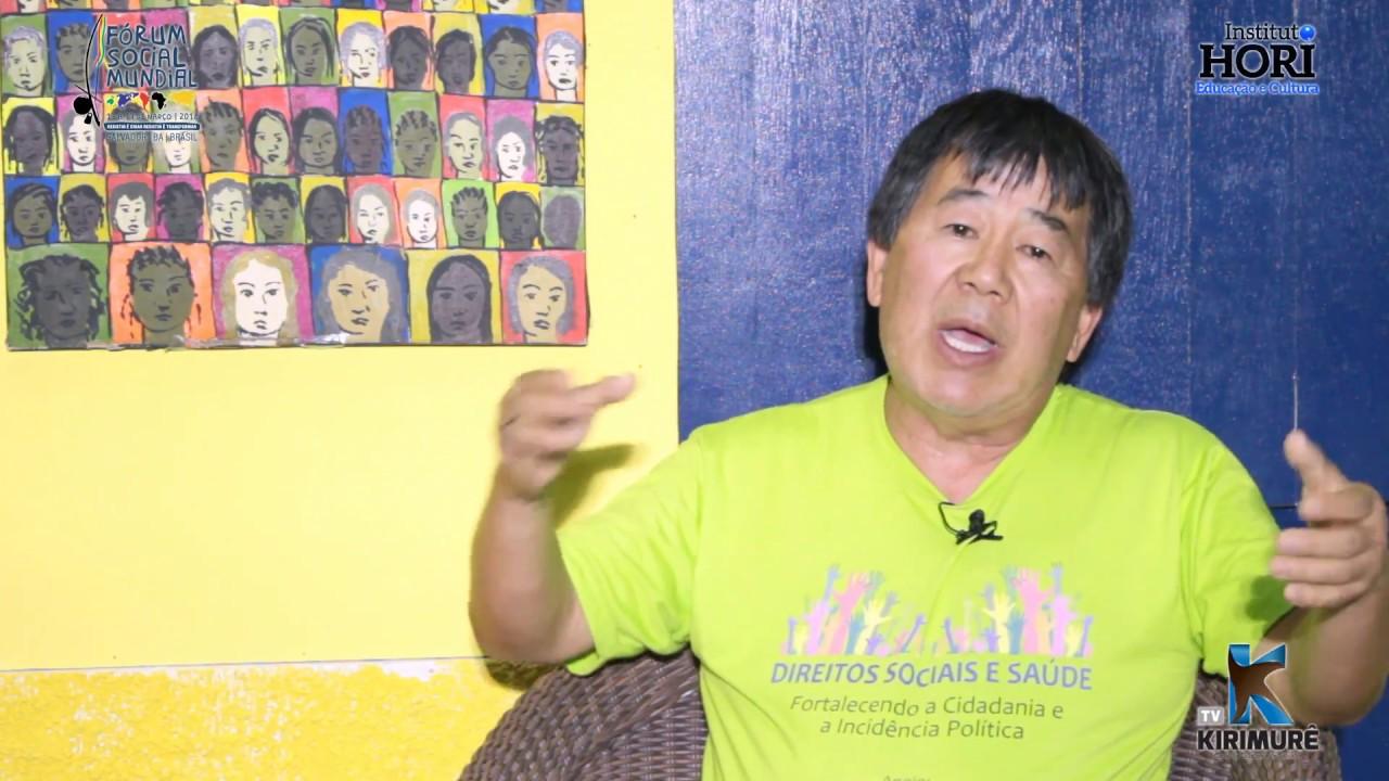 Fórum Social Mundial 2018 - Seiti Takahama
