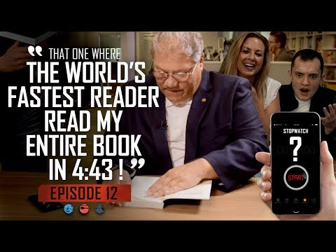 That one where the worlds fastest reader read my entire book in 4:43! Funnel Hacker TV - Episode 12