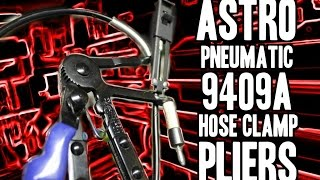 Astro Pneumatic 9409a Hose Clamp Pliers