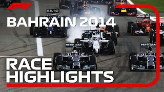 2014 Bahrain Grand Prix: Race Highlights
